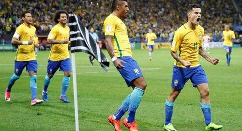 Brasilien er et af de bedste hold i verdensmesterskabet i 2018
