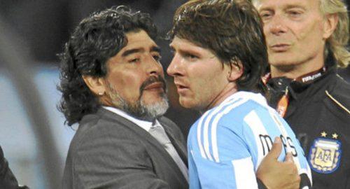 Den Argentina præsident mener Messi bedre end Maradona bedre