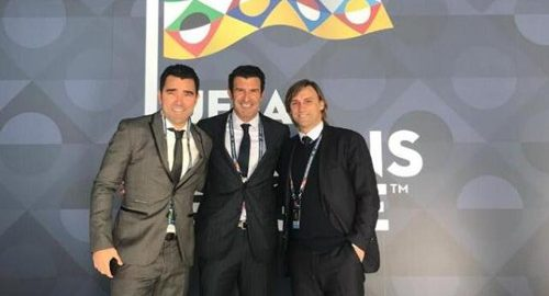 Portugal legende Figo og deco deltager i European National League draw