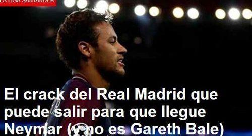 Real Madrid for indførelsen af Neymar ny ordning